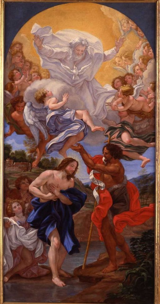 The Baptism of Christ | Giovanni Battista Gaulli | Oil Painting
