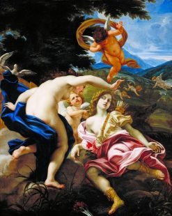 The Death of Adonis | Giovanni Battista Gaulli | Oil Painting