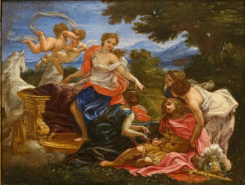 Rinaldo and Armida | Giovanni Battista Gaulli | Oil Painting