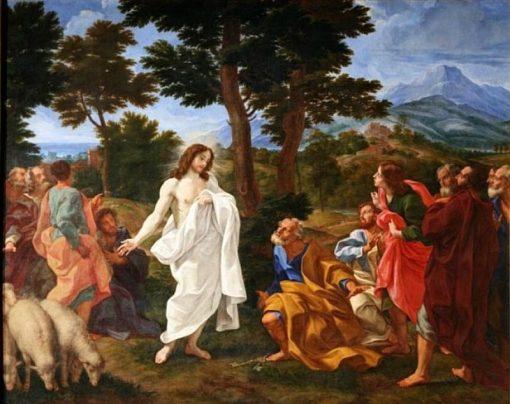 Pasce oves meas | Giovanni Battista Gaulli | Oil Painting