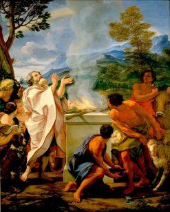 The Thanksgiving of Noah | Giovanni Battista Gaulli | Oil Painting