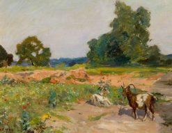 Poor Provender | Hubert von Herkomer | Oil Painting
