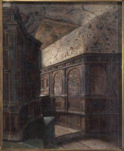 Duke Karls Tower Chamber at Gripsholm | Ernst Josephson | Oil Painting