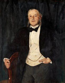 Portrait of Eduard Josephson | Ernst Josephson | Oil Painting