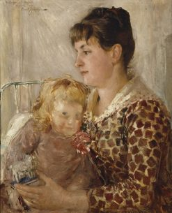 Mother and Child | Ernst Josephson | Oil Painting