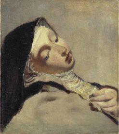 St Teresa in Extasy | Ernst Josephson | Oil Painting