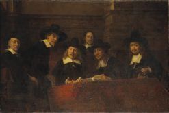 Staalmeesters (after Rembrandt) | Ernst Josephson | Oil Painting