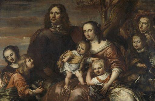 Family Portrait | Jurgen Ovens | Oil Painting