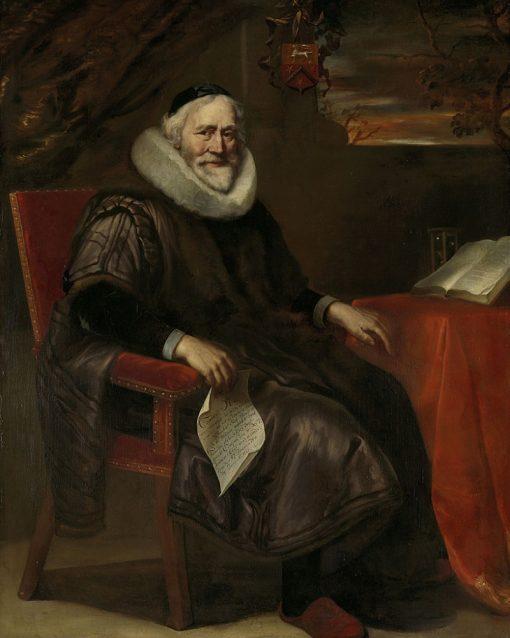 Cornelis Nuyts   Jurgen Ovens   Oil Painting