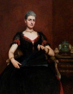 Portrait of a Woman | Hubert von Herkomer | Oil Painting