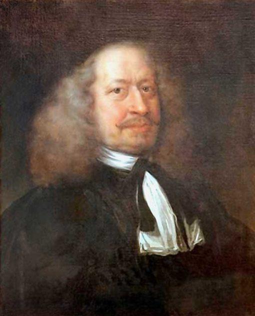 Portrait of Adam Olearius | Jurgen Ovens | Oil Painting