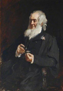 Professor John Obediah Westwood | Hubert von Herkomer | Oil Painting