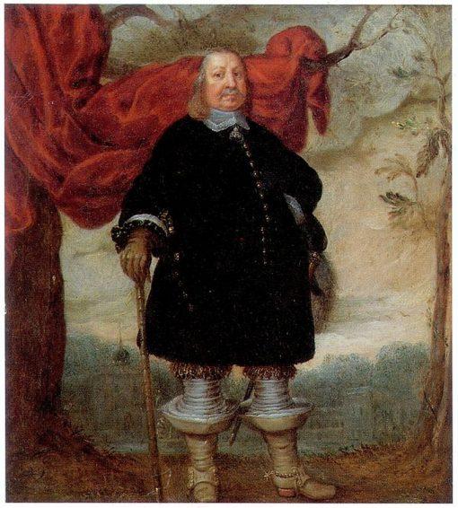 Portrait of Friedrich III | Jurgen Ovens | Oil Painting