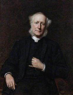 Reverend William Henry Egerton | Hubert von Herkomer | Oil Painting