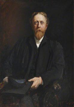 Reverend Henry George Woods | Hubert von Herkomer | Oil Painting