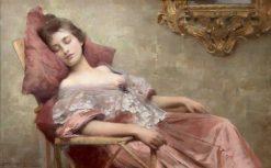 Asleep | Samuel Melton Fisher | Oil Painting