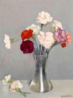 Carnations | Sir George Clausen
