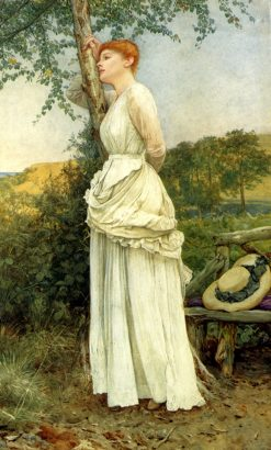 The Trysting Place | Edward Killingworth Johnson | Oil Painting