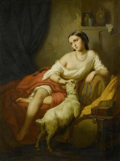 Esmeralda | Friedrich Kraus | Oil Painting