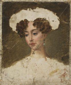 Queen Josefina (study) | Fredrik Westin | Oil Painting