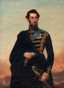 King Charles XV of Sweden | Fredrik Westin | Oil Painting