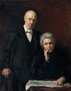Samuel and Henrietta Barnett | Hubert von Herkomer | Oil Painting