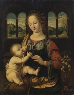 Virgin and Child | Johann König | Oil Painting