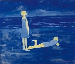 Young Women at the Beach | Leon Spilliaert | Oil Painting