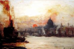 The Upper Port | George Hyde Pownall | Oil Painting