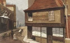The Old Curiosity Shop | George Hyde Pownall | Oil Painting