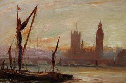 Westminster | George Hyde Pownall | Oil Painting