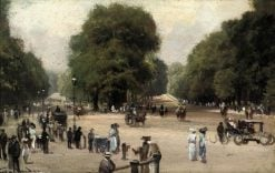 Rotten Row from Hyde Park Corner | George Hyde Pownall | Oil Painting