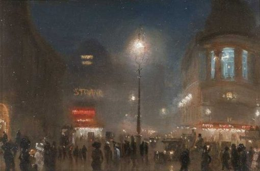 London Theatreland | George Hyde Pownall | Oil Painting
