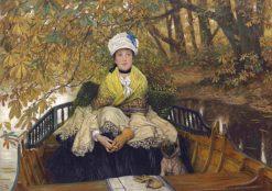 Waiting | James Tissot | Oil Painting