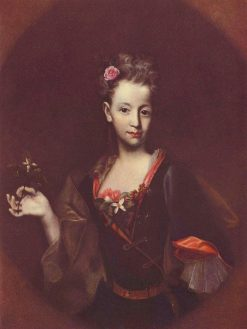 Portrait of Franziska Wussin | Jan Kupecky | Oil Painting
