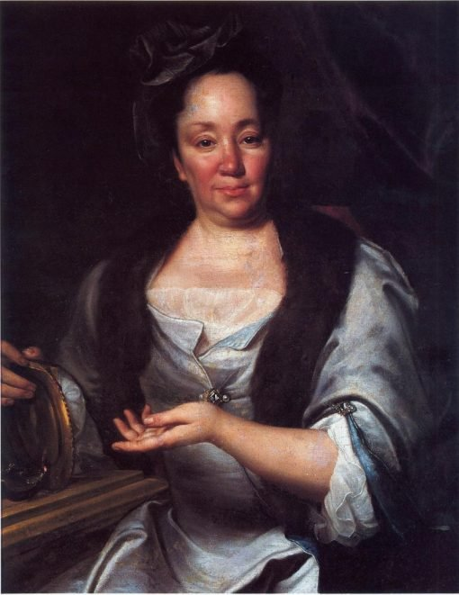 Portrait of Ludmila Magdalena von Götter | Jan Kupecky | Oil Painting
