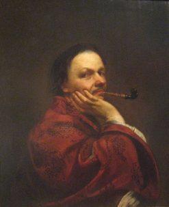 Self Portrait   Jan Kupecky   Oil Painting
