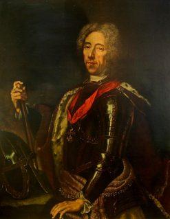 Portrait of Prince Eugene of Savoy | Jan Kupecky | Oil Painting