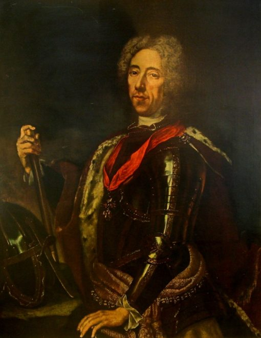 Portrait of Prince Eugene of Savoy   Jan Kupecky   Oil Painting