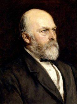 Sir Arthur Hallam Elton   Hubert von Herkomer   Oil Painting
