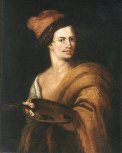 Portrait of Ádám Mányoki   Jan Kupecky   Oil Painting