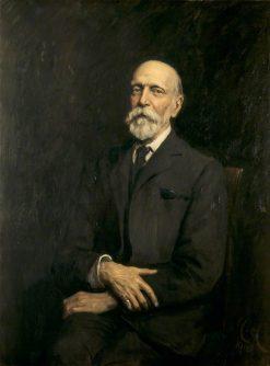 Sir Ernest George   Hubert von Herkomer   Oil Painting