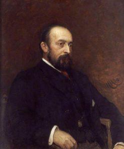 Sir Charles Dyke Acland   Hubert von Herkomer   Oil Painting