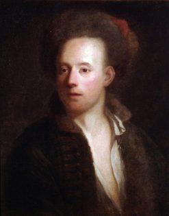 Portrait of a man in a fur cap   Jan Kupecky   Oil Painting