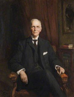 Sir Edward George Jenkinson   Hubert von Herkomer   Oil Painting