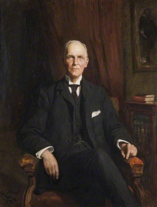 Sir Edward George Jenkinson | Hubert von Herkomer | Oil Painting