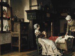 Sweet Dreams | Victor Lagye | Oil Painting