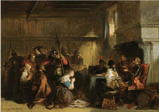 The Trial | Herman Frederik Carel ten Kate | Oil Painting