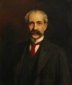 Sir Felix Semon   Hubert von Herkomer   Oil Painting