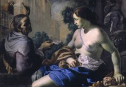 David and Bathsheba | Bernardino Mei | Oil Painting